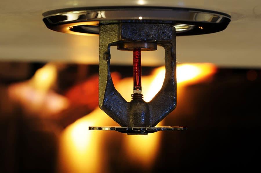 Protectie activa la foc prin sprinklere