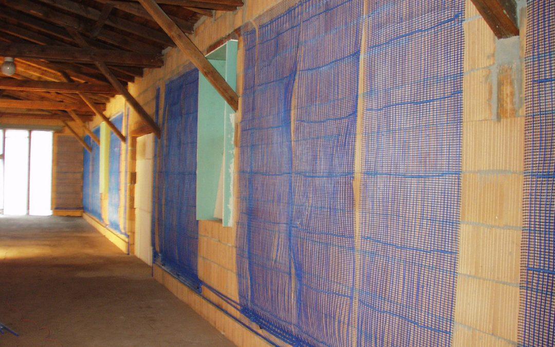 Încălzire şi răcire ieftină prin pereți